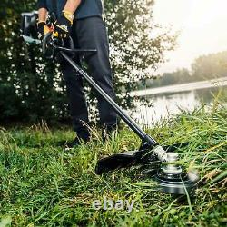 Mcculloch B33 Ps Straight Shaft Petrol Brushcutter And Line Trimmer 420mm