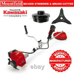 Mountfield Bk35ed Kawasaki Strimmer - Lame De Cutter Brosse 35cc Bullhorn