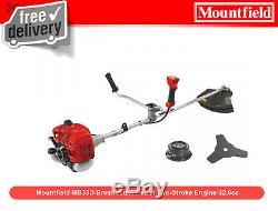 Mountfield Mb33d Débroussailleuse Essence À Deux Temps Moteur 32.6cc
