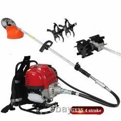 Professionnel 3 En 1 Outil Multi Backpack Brush Coupeur 4 Temps Gx35 Engine Petrol