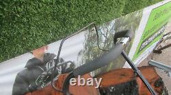 Rapid 3 Roues Brush Cutter 4 Temps Lame D'acier Essence