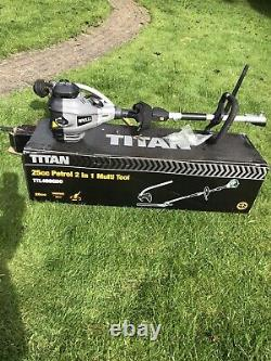 Saw Titan 25.4cc Essence Entretien Du Jardin Multi-outil Débroussailleuse Taille-haie