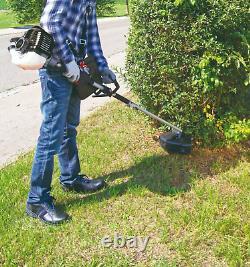 Scheppach 4 En 1 Jardin Multi Tool Petrol 32.6cc Strimmer Pole Saw Hedge Brush