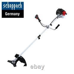 Scheppach Bch3300-100pb 32.6cc 2 En 1 Jardin Pétrol Strimmer & Brosse Cutter
