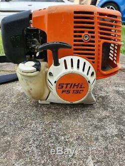 Stihl Fs130 / 100 Professional Tondeuse À Gazon, Débroussailleuse 36.3cc Essence 2 Temps 4mix