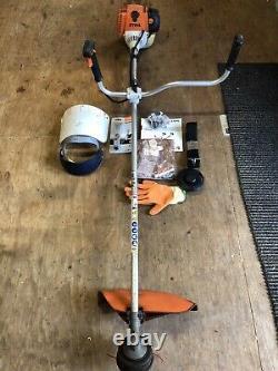 Stihl Fs130 Strimmer /brushcutter Avec Accessoires, Just Had Full Service Ainsi