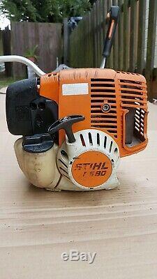 Stihl Fs90 / Fs100 Professional Tondeuse À Gazon, Débroussailleuse 28.4cc Essence Engine 4mix