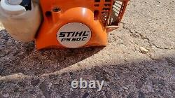 Stihl Fs 50c Échelle D'essence / Brossage