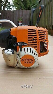 Stihl Fs 90/100 Professional Tondeuse À Gazon, Débroussailleuse 28.4cc Essence Engine 4mix