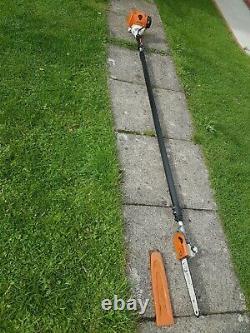Stihl Ht 101 Professionnel Télescopique, Pôle Sécateur Vu Chainsaw 31.4cc Essence