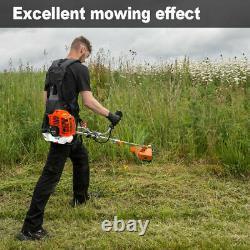 Tondeuse À Gazon 52cc Multi Petrol Garden Brush Cutter Grass Line Trimmer Strimmer Lawn Tondeuse
