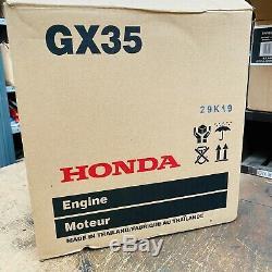 Véritable Honda Gx35 Essence Débroussailleuse Tondeuse À Gazon Tiller Multitool Tiller
