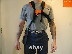 Véritables Stihl Trimmer/brushcutter Harnesse Paded Shoulders 4119 710 9012 / 9001